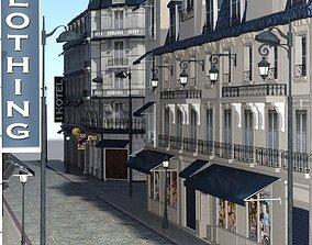 European Street for DAZ Studio 3D model