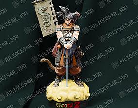 3D print model Dragon Ball Shogun - Goku