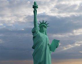 Statue of Liberty 3D asset VR / AR ready
