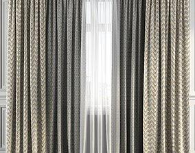 Curtain Set 225 3D