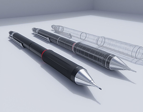 Mechanical pencil writing 3D
