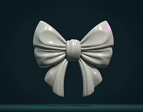 3D printable model Bow Ribbon relief