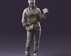 builder with the brick 1102 3D Print Ready