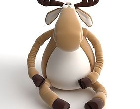 3D Toy Moose