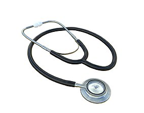cardiology Stethoscope 3D