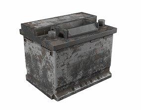 3D model Battery 01 dirt PBR