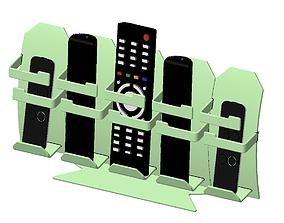 3D print model Remote Holder