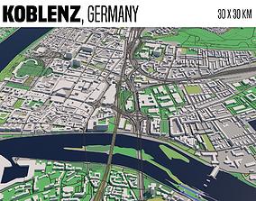 city Koblenz 3D model