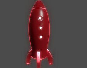 Spaceship Lamp 3D printable model