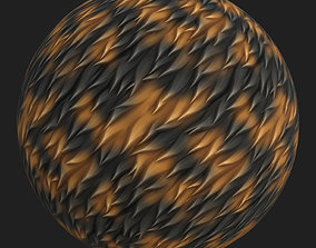 Stylized Fur 3D asset
