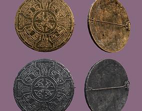 Medieval Pin Design One 3D asset