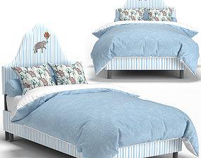 ONE KINGS LANE Elephant Stripe Bed 3D model