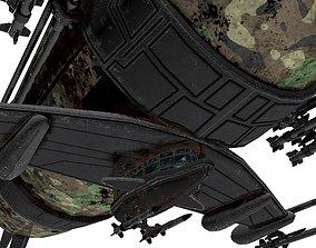 3D asset War Zeppelin - Medium Sized