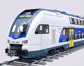 Stadler KISS Double Deck Train 3D