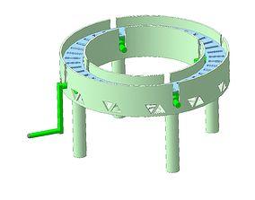 Conveyor 3D printable model