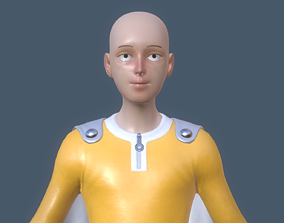 Saitama 3D MODEL - One Punch Man
