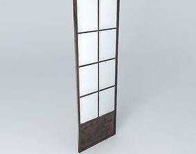mirror door 3D model