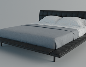 Poliform Onda Bed 3D asset