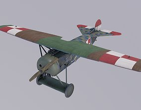 3D model Fokker D8 Polish