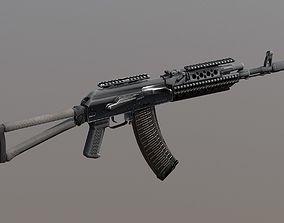 PBR AK-47 Tactical Assault rifle Special Forces 3D asset
