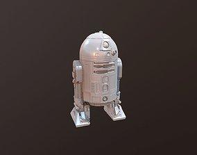 R2D2 print ready for FDM ors SLA printing