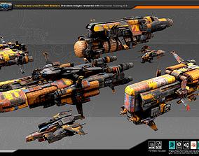 3D asset Smugglers Fleet