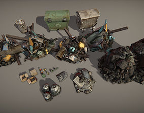 3D model Garbage pack
