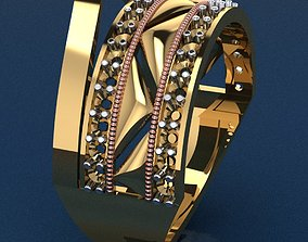fashion-ring Ring 41 3D print model