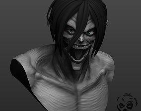 Eren from Attack on Titan in titan form 3D print model