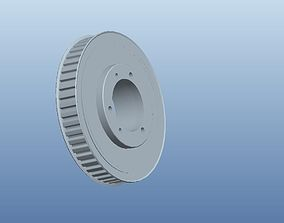 Timing Pulley 3D print model