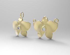 Floral Orchid Pendant 3D printable model