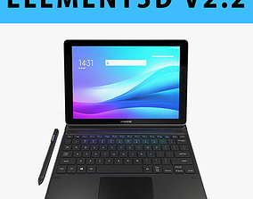 E3D - Samsung Galaxy Book 10 6 New Spen Type Cover