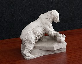Bear polar 3D print model