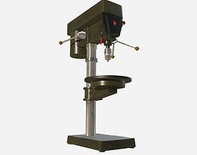 3D model Workshop Bench Drill press