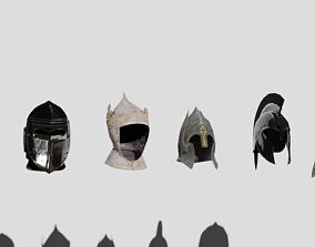 Helmets 3D asset