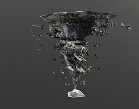 ANIMATED TORNADO 3D model