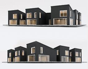 3D asset Villa house 8