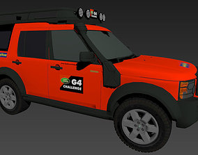 3D asset Land Rover Discovery 3 G4