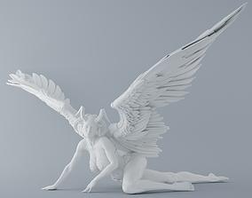 3D print model Evil angel 012