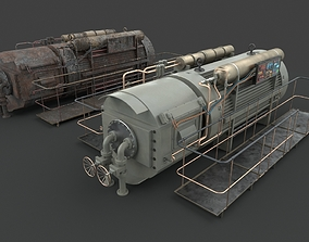 Machinery device 3D model