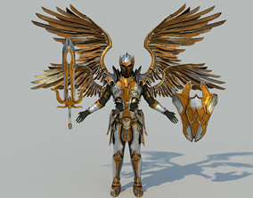 Warrior Seraphim 3D model