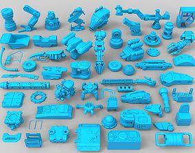 3D model Kit bash - 56 pieces - collection-22