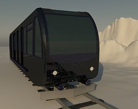3D Train travel