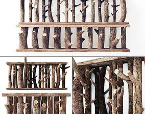 3D model Log decor constructor big n1