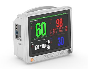 12 Inch Patient Monitor 3D