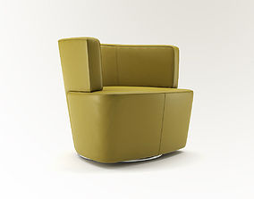 3D Armchair Joel from Walter Knoll - Design by EOOS