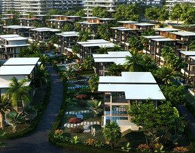 Villa 019 3D model