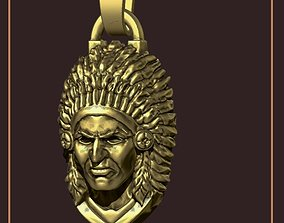 INDIAN CHIEF NECKLACE 3D printable model