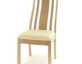 3D model American Wooden Furniture