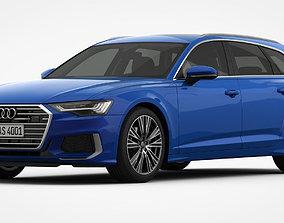 Audi A6 S-Line Avant 2019 3D